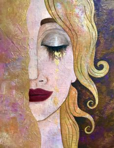 Paint like Klimt: Arany könnyek