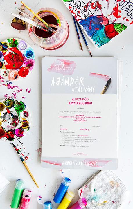 ArtMasters Ajándékutalvány