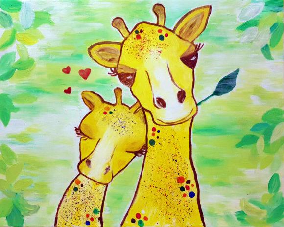 Lula a kicsi zsiráf