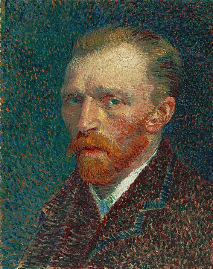 Van Gogh önarcképe.