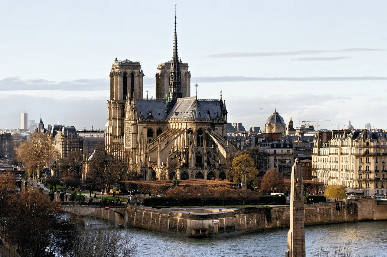 Notre-Dame távolról.