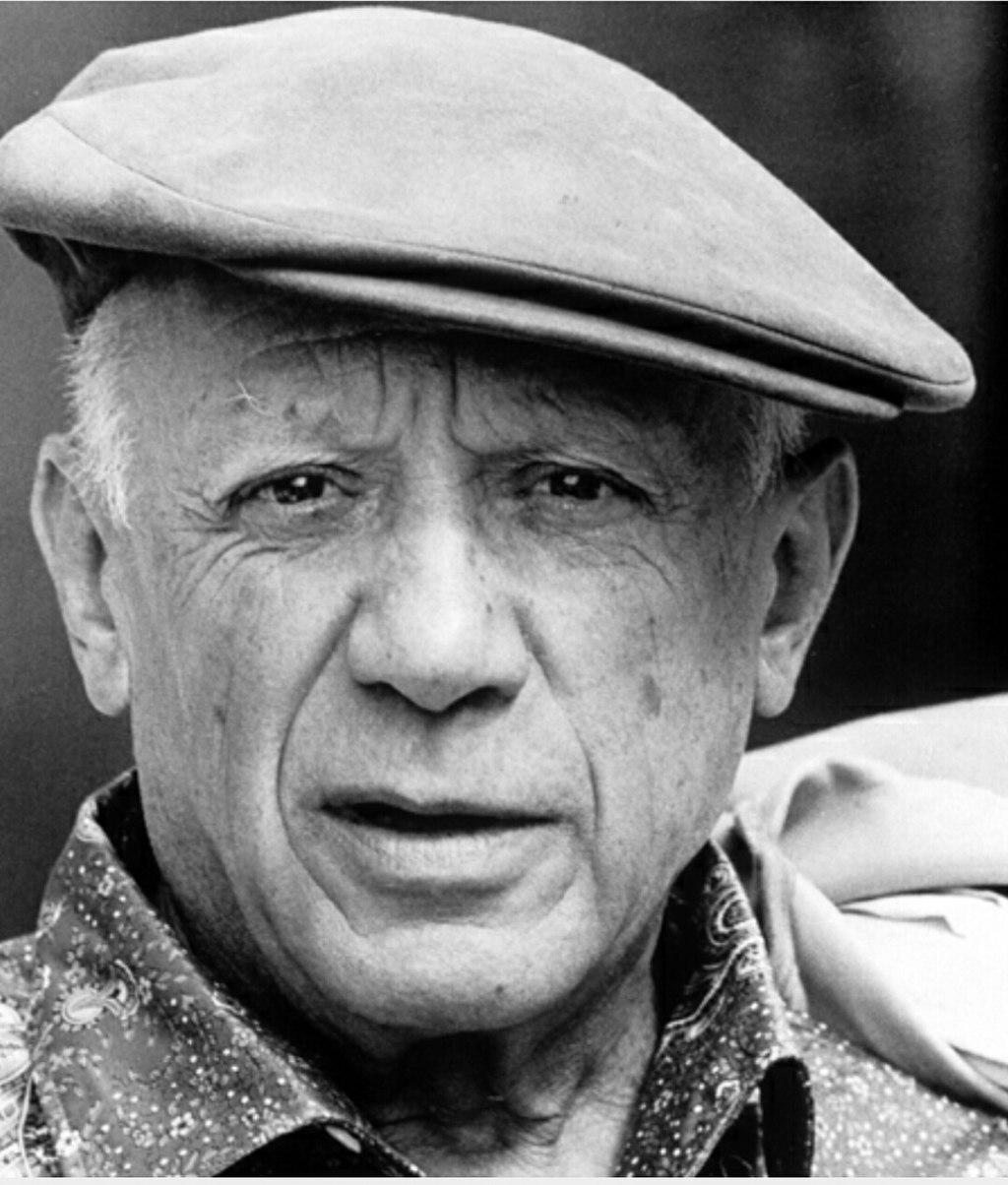 Pablo Picasso fotója.