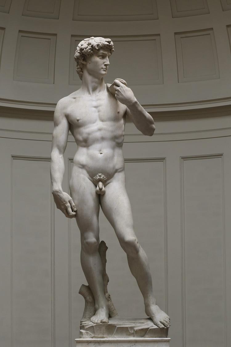 Michelangelo Dávid szobor.