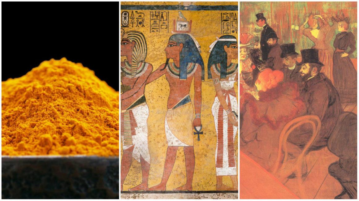 A narancssárga szín története: sírfestményektől napjainkig