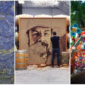 Amikor alkotássá válik a környezetvédelem: ez a hulladékművészet