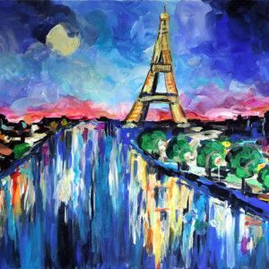 Párizs holdfényben