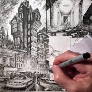Kreatív hét 2. nap – Képregény rajzolás
