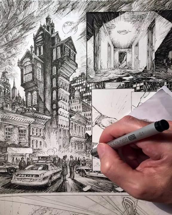 Képregény rajzolás