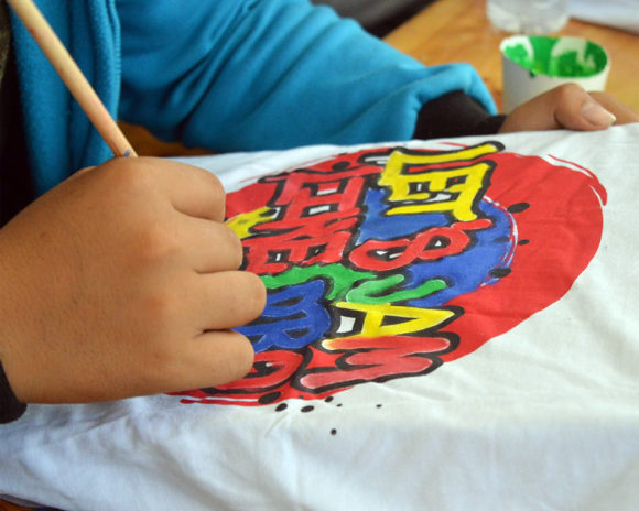 Pólófestés - Kreatív hét