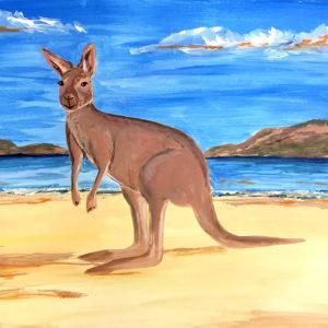 Sidney kalandjai – anya-gyermek páros festés