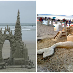 A strandon is készülhet remekmű: az 5 legmenőbb homokvár