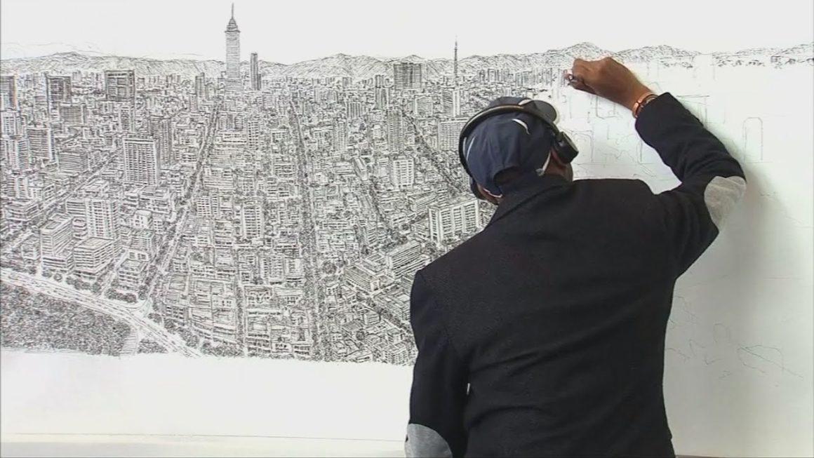 A művész, aki emlékezetből hibátlanul lerajzolta New Yorkot