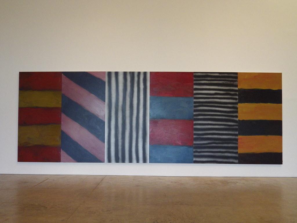 Sean Scully festmény kiállítás.