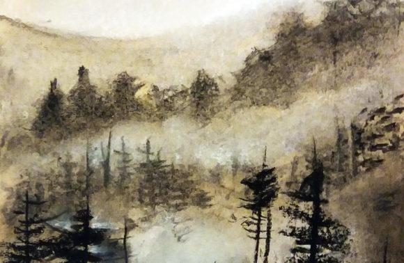 Hajnali erdő