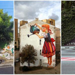 A természet és a street art izgalmas találkozása